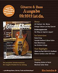 Gitarre & Bass 2012